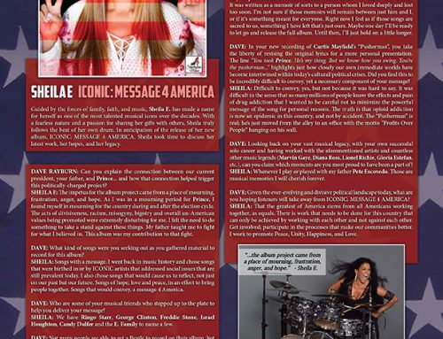 An EXCLUSIVE interview with SHEILA E!