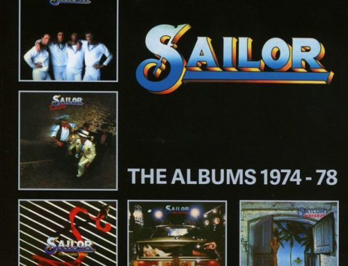 THE CHANCELLOR reviews the 5CD box SAILOR: THE ALBUMS 1974-78
