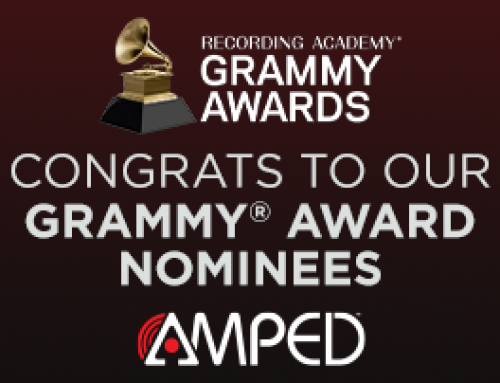 Congratulations to our Grammy® Award-nominated AMPED™ artists!
