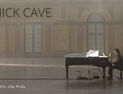 AMPED™ FEATURED ALBUM OF THE WEEK: NICK CAVE – IDIOT PRAYER: NICK CAVE ALONE AT ALEXANDRA PALACE